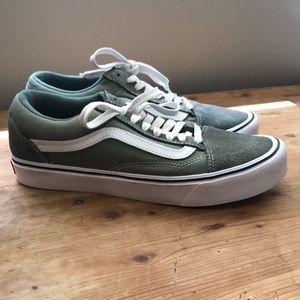 Vans Ultra Cush Lite Green Sneakers